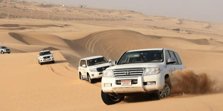desert safari dubai timings
