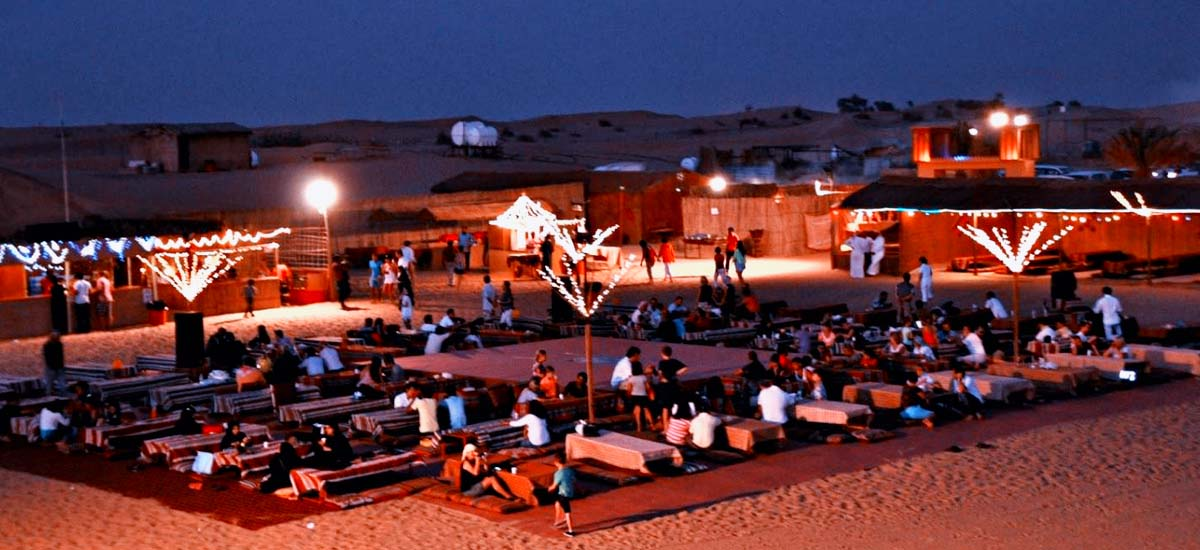 Desert Safari Camp Dubai