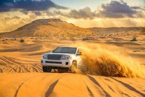 Best time for desert safari in Dubai