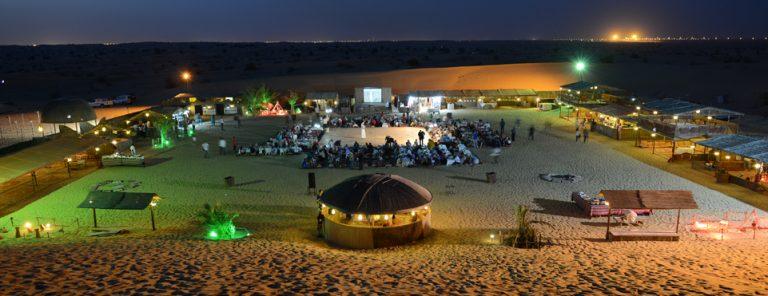 desert safari camp dubai