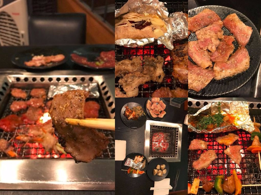 Delicious barbeque with Buffet